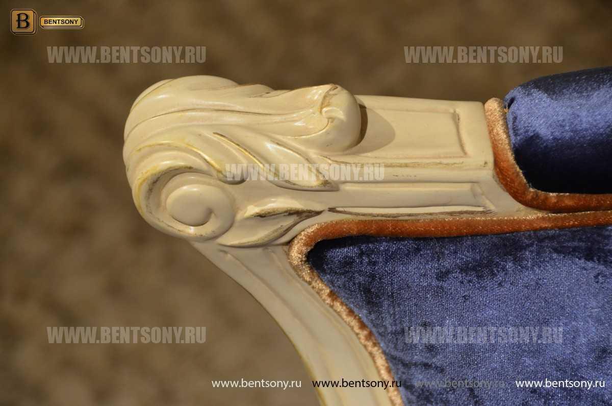 Кресло для отдыха Митчел с подушкой, Пуф (Классика, Ткань) каталог мебели