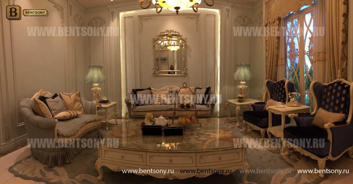 Стол Журнальный большой прямоугольный Митчел А (Мрамор, классика) каталог мебели