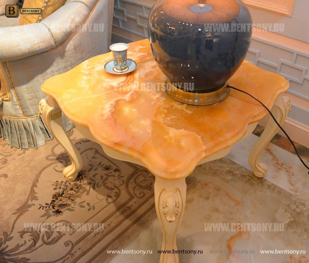 Стол журнальный Митчел В квадратный маленький (Мрамор) официальный сайт цены