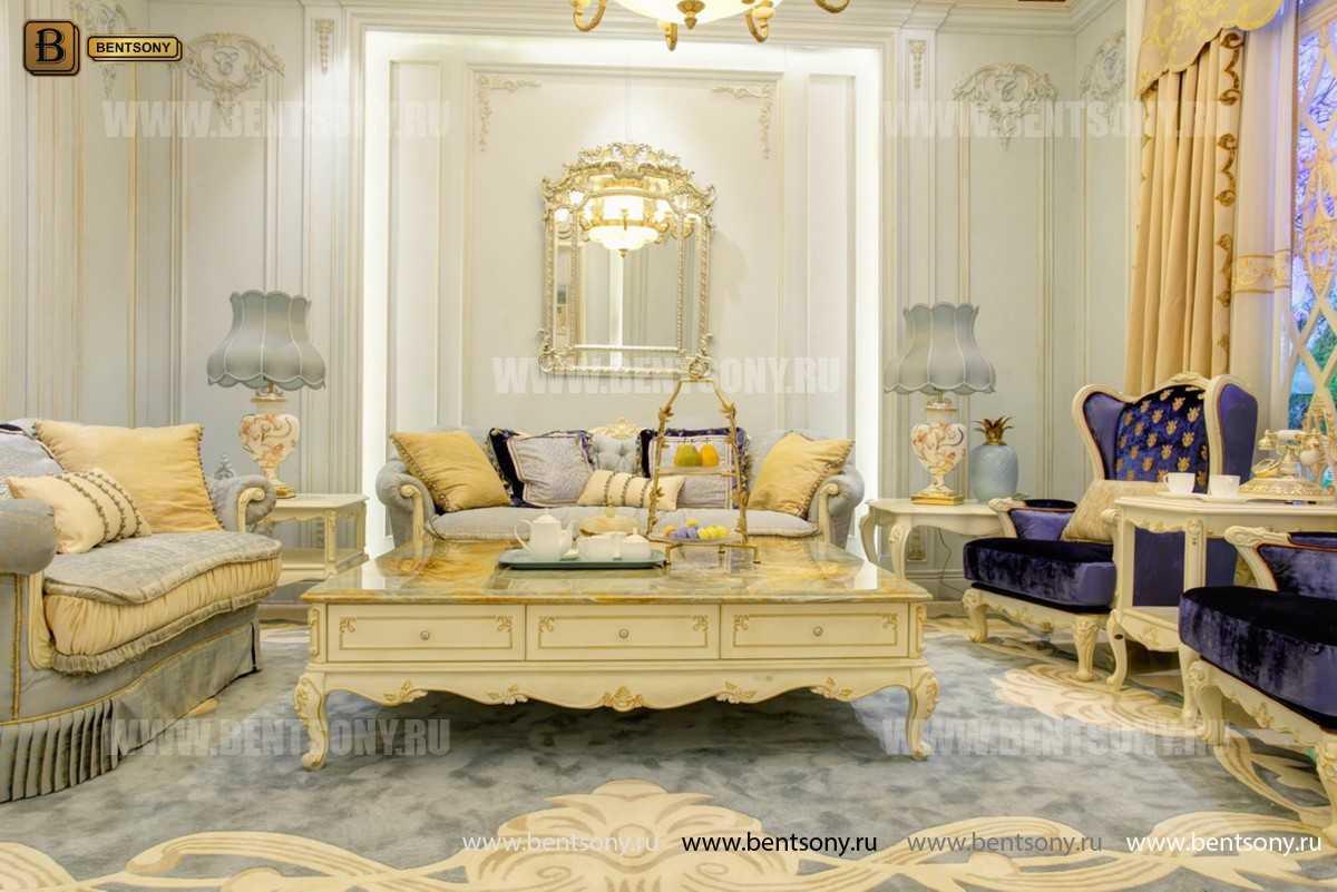 Гостиная Митчел А (Классика, Ткань) каталог мебели с ценами
