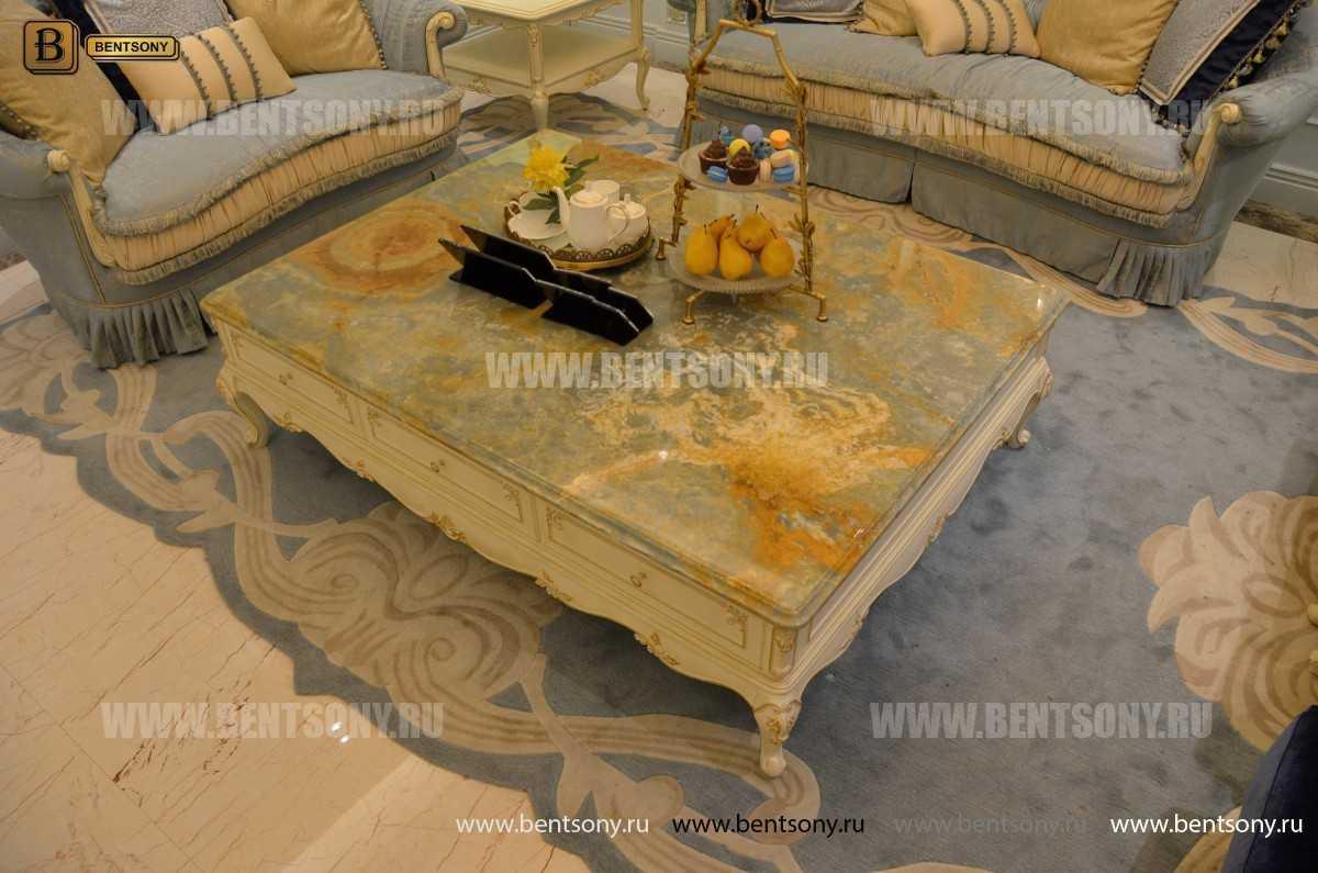 Гостиная Митчел А (Классика, Ткань) для квартиры
