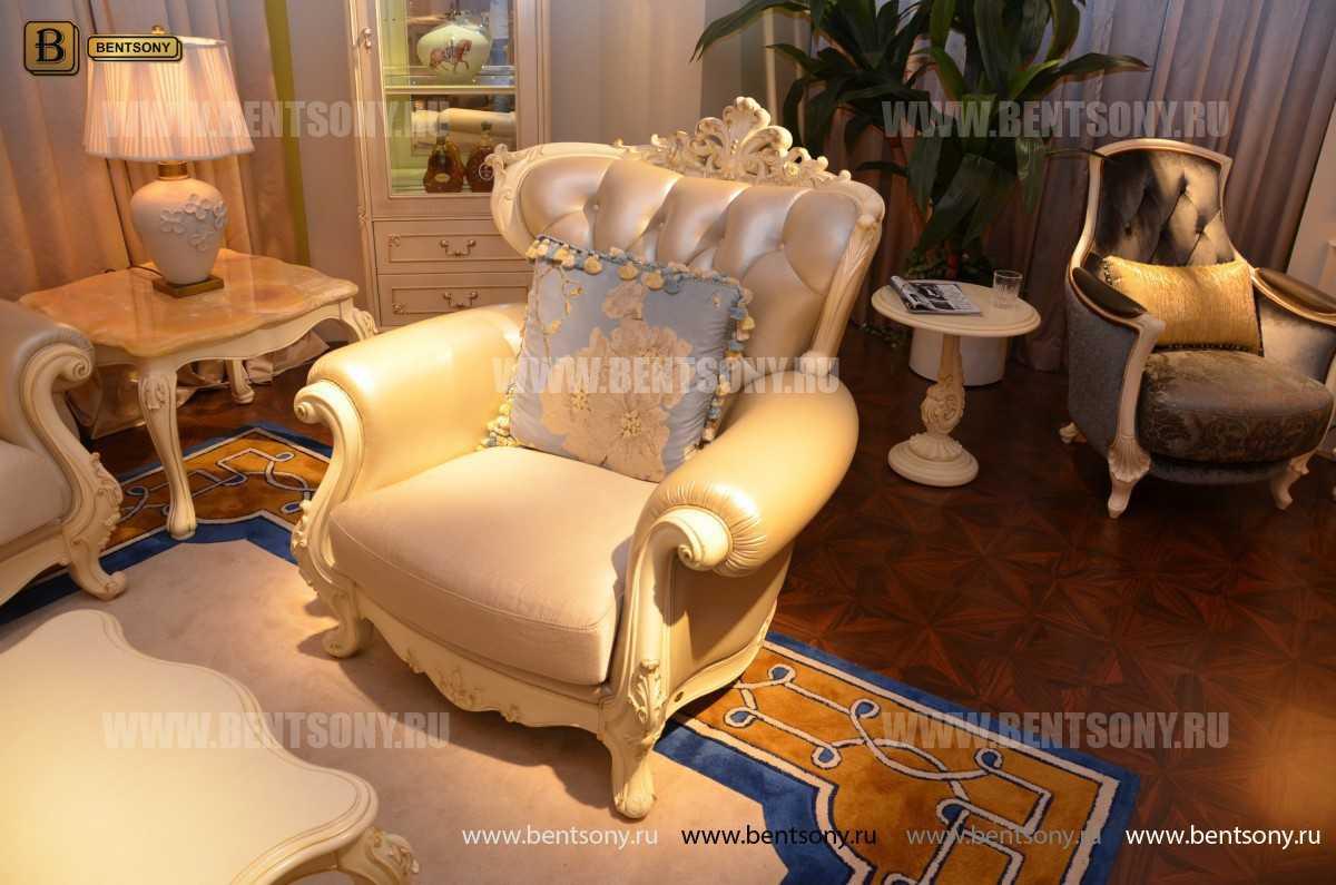 Кресло Митчел D (Классика, Ткань, Натуральная кожа) каталог с ценами
