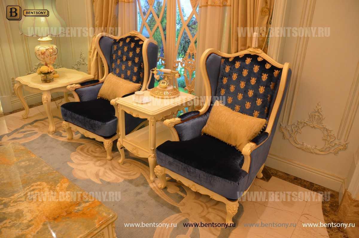 Чайный стол Митчел (Классика, массив дерева) купить в Москве