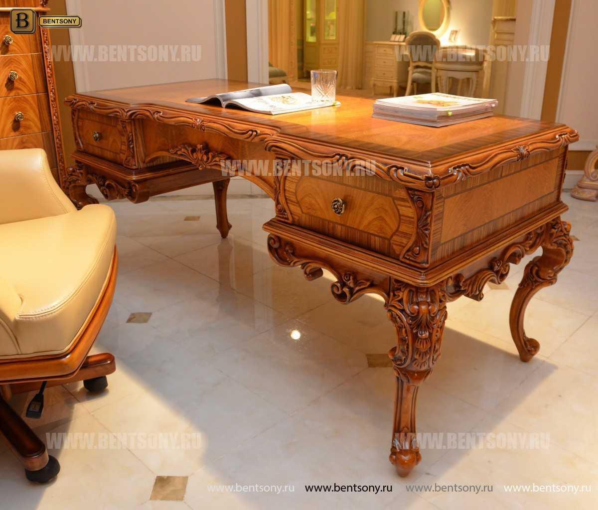 Письменный стол Белмонт (Массив дерева, классика) каталог мебели