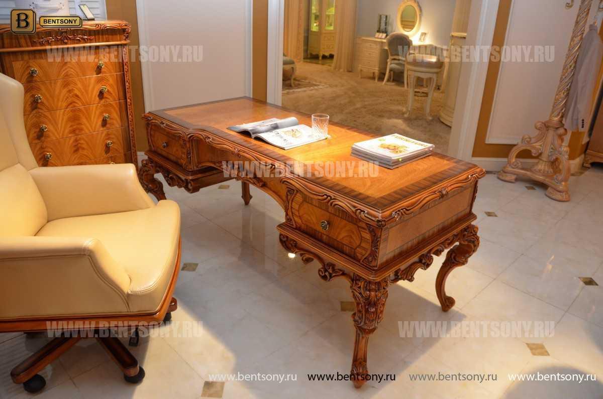 Письменный стол Белмонт (Массив дерева, классика) каталог с ценами