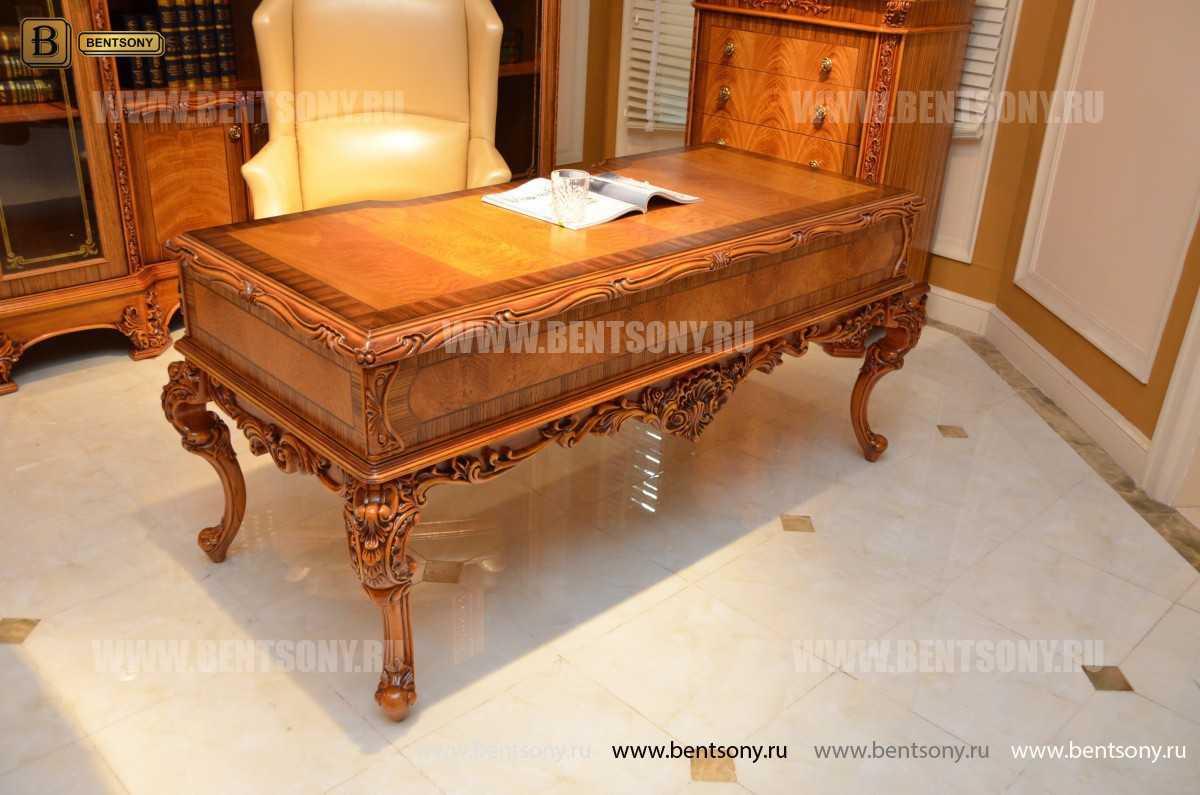 Письменный стол Белмонт (Массив дерева, классика) купить в Москве