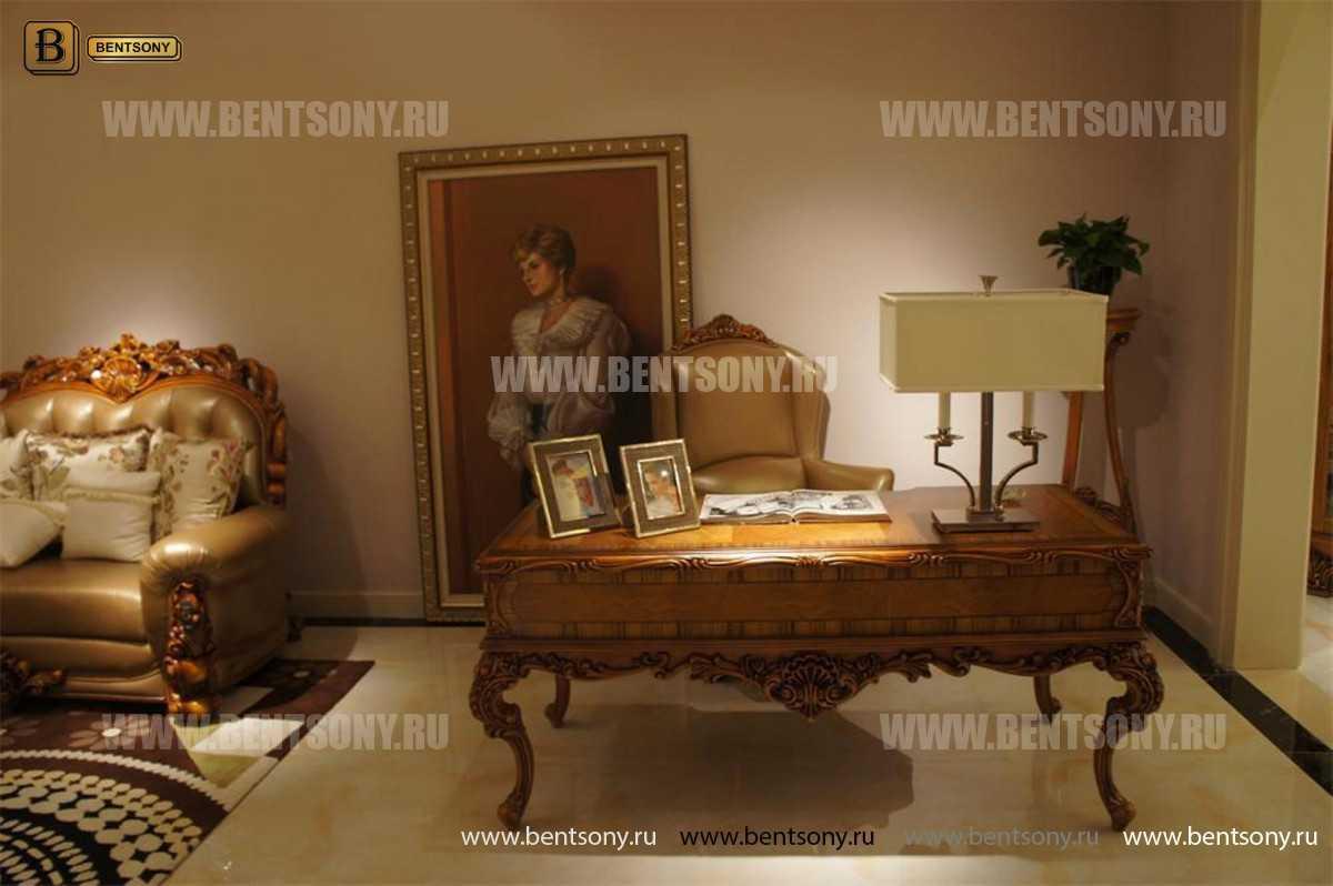 Письменный стол Белмонт (Массив дерева, классика) каталог мебели с ценами