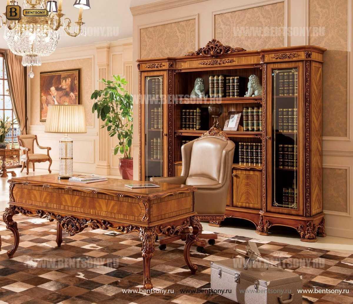 Письменный стол Белмонт (Массив дерева, классика) интернет магазин