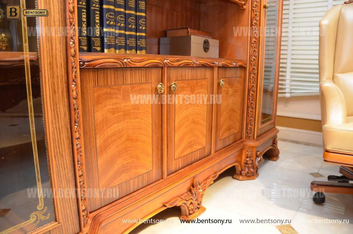 Шкаф Книжный Белмонт (Классика, массив дерева) купить