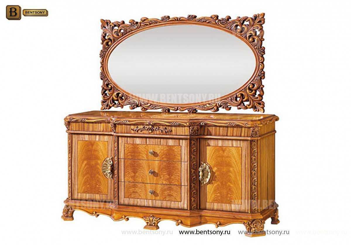 Комод Белмонт А (Классика, массив дерева) каталог мебели