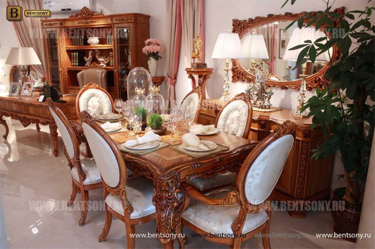 Стол обеденный Белмонт прямоугольный (массив дерева) в Москве