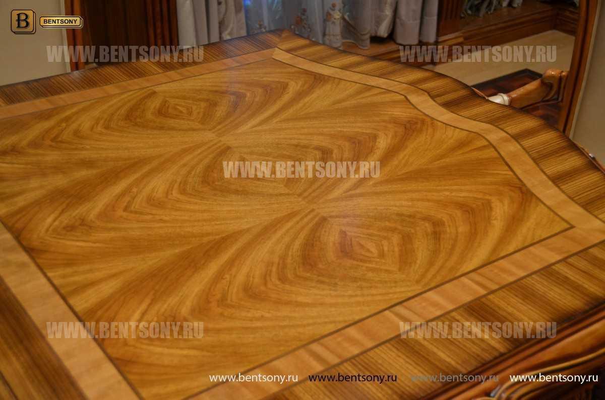 Стол обеденный раздвижной Белмонт (массив дерева) для квартиры