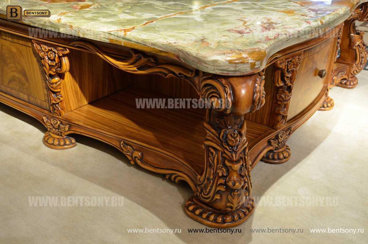 Стол журнальный Белмонт D большой прямоугольный (Классика) каталог мебели