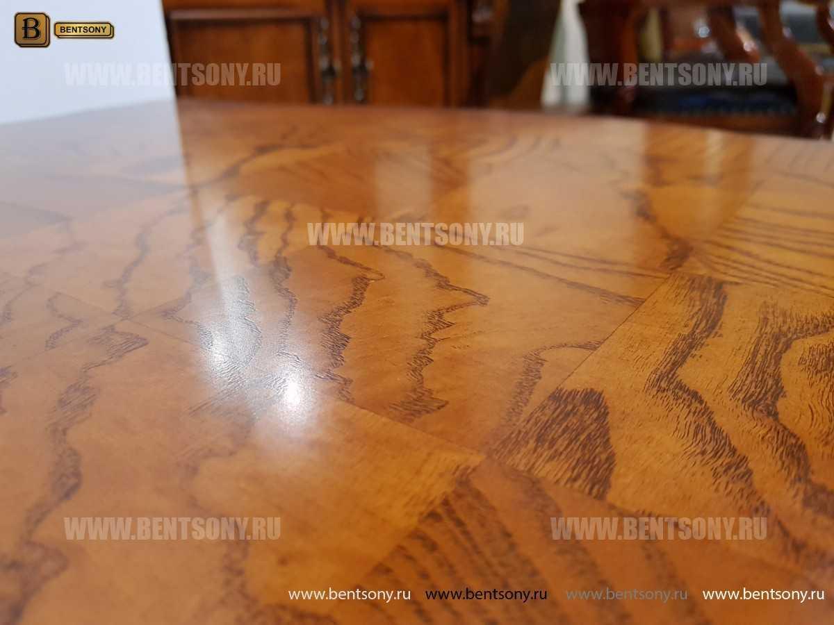 Стол журнальный Монтана А, чайный (Классика, массив дерева) фото