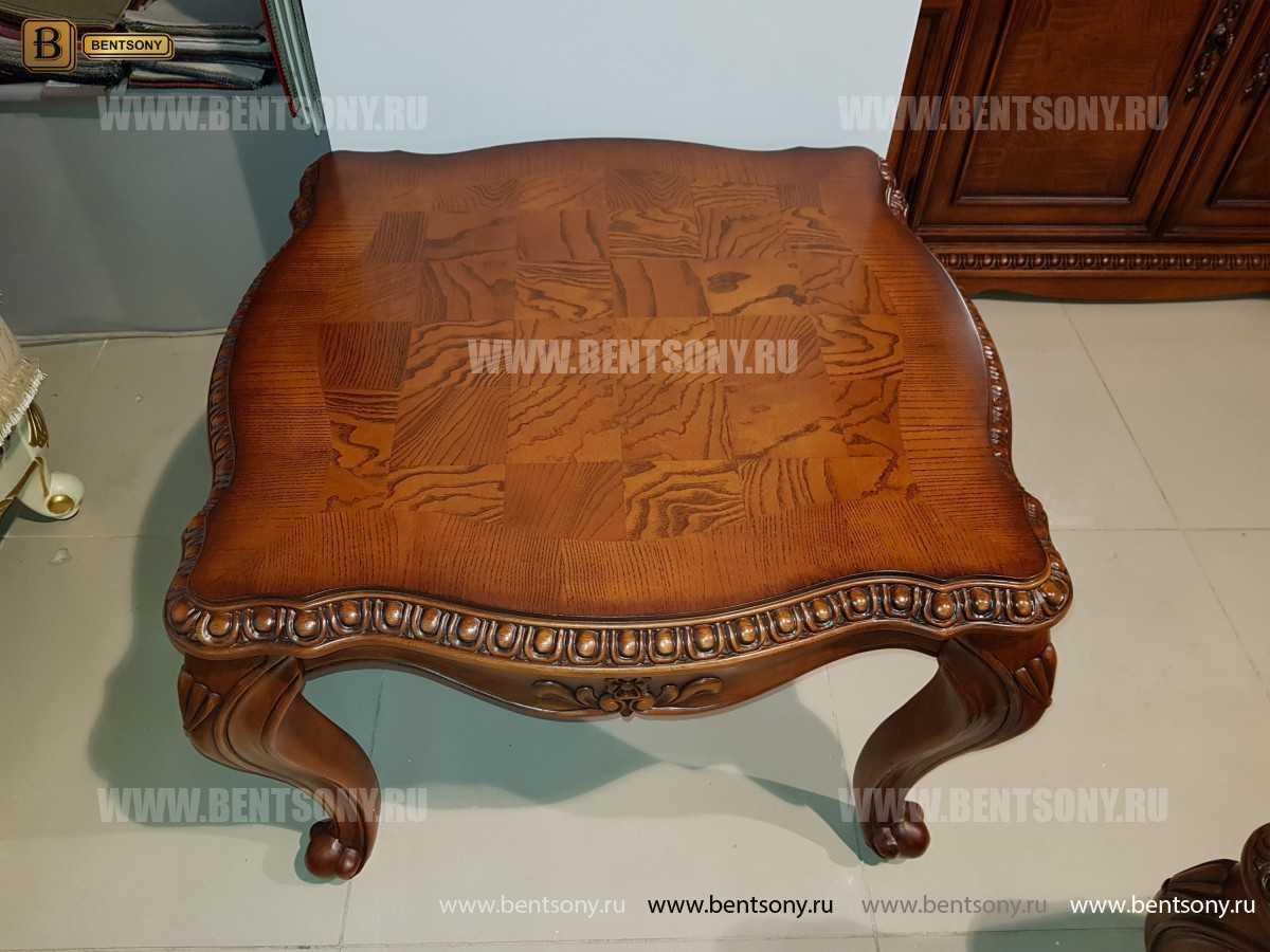 Стол журнальный Монтана А, чайный (Классика, массив дерева) для загородного дома