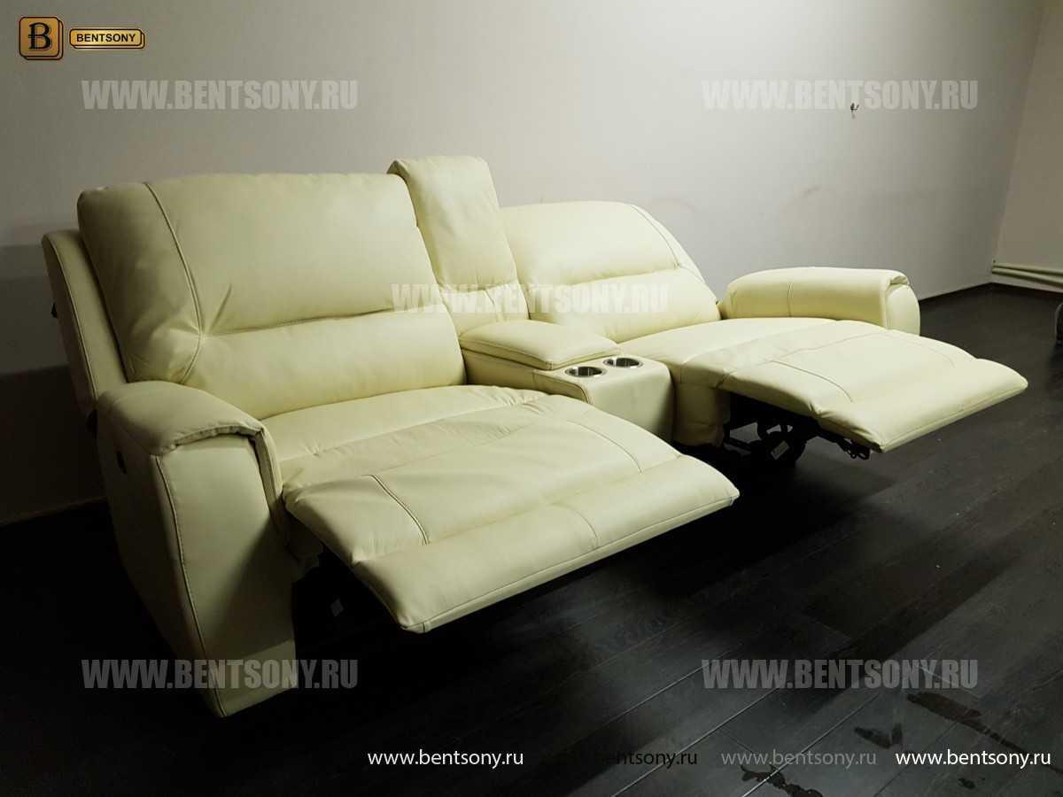 Итальянский Диван Прато (Бар, Натуральная Кожа) каталог мебели