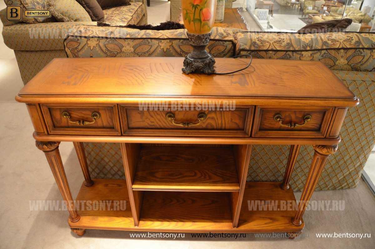 Тумба придиванная Феникс (Деревянная столешница) каталог мебели с ценами