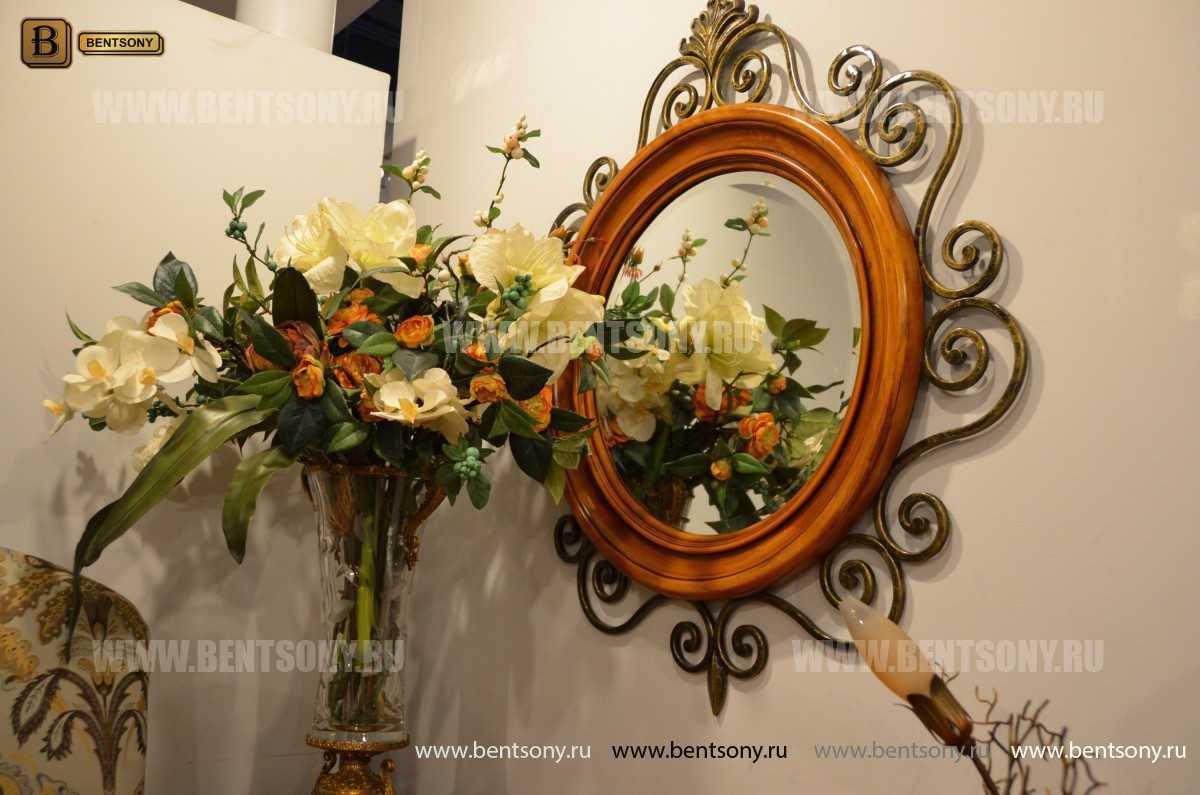 Зеркало на стену Дакота (Классика, дерево, металл) купить