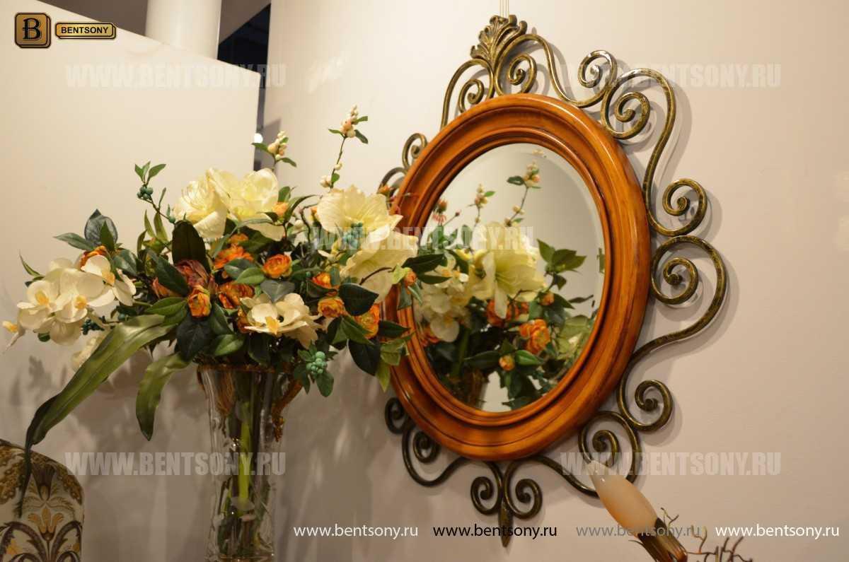 Зеркало на стену Дакота (Классика, дерево, металл) каталог с ценами