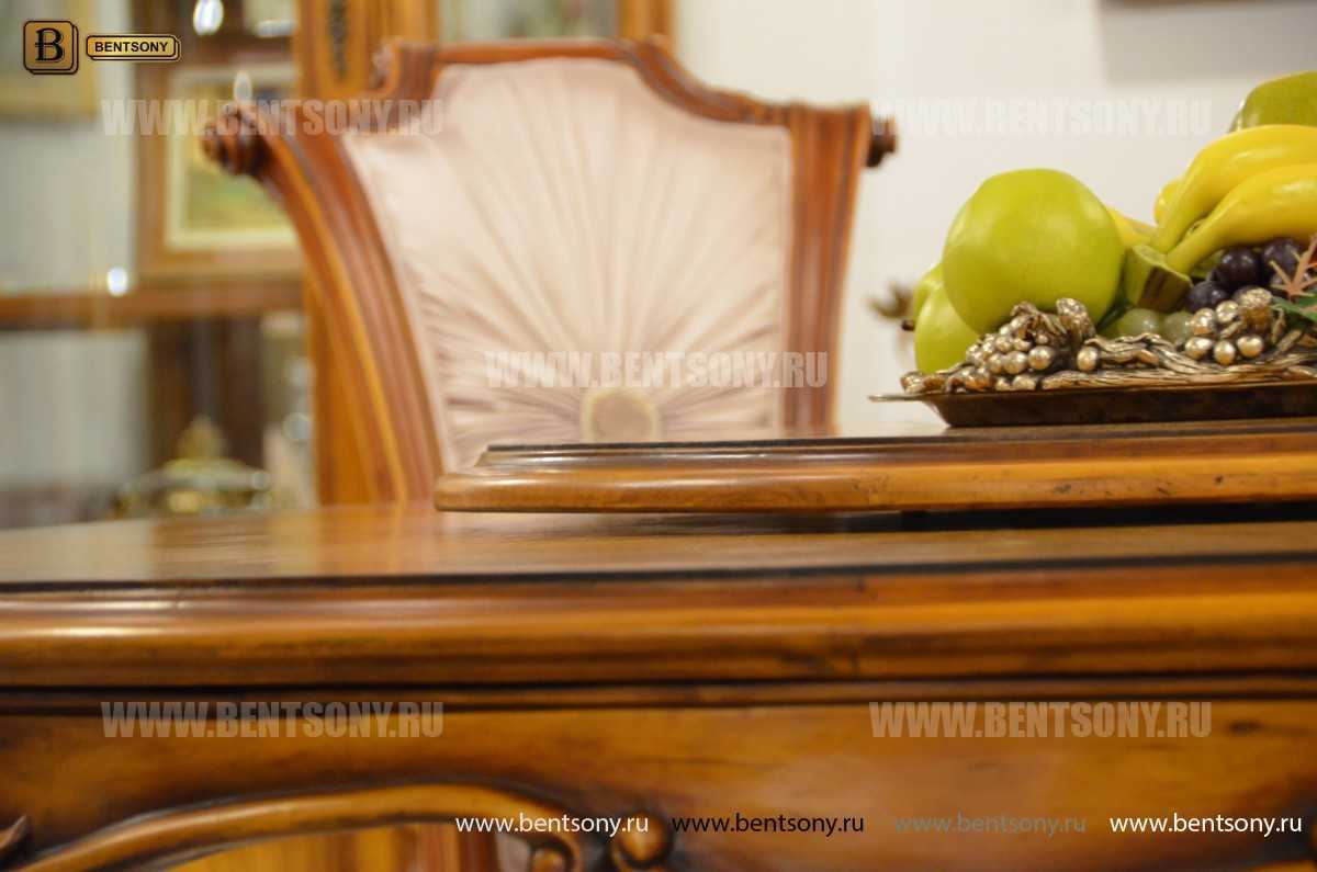 Обеденный стол Дакота А (Круглый, массив дерева) магазин