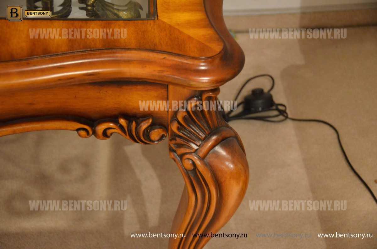 Стол Журнальный Чайный Дакота А (Массив дерева, стекло) фото