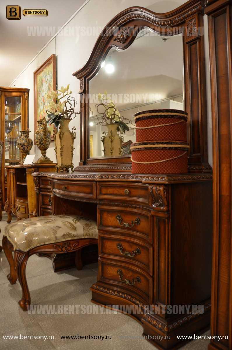 Стол туалетный Монтана А (классика, массив дерева) купить в СПб