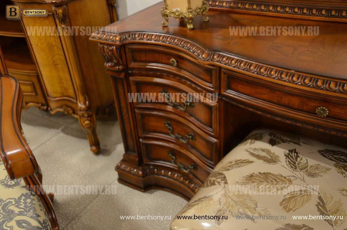 Стол туалетный Монтана А (классика, массив дерева) каталог мебели с ценами