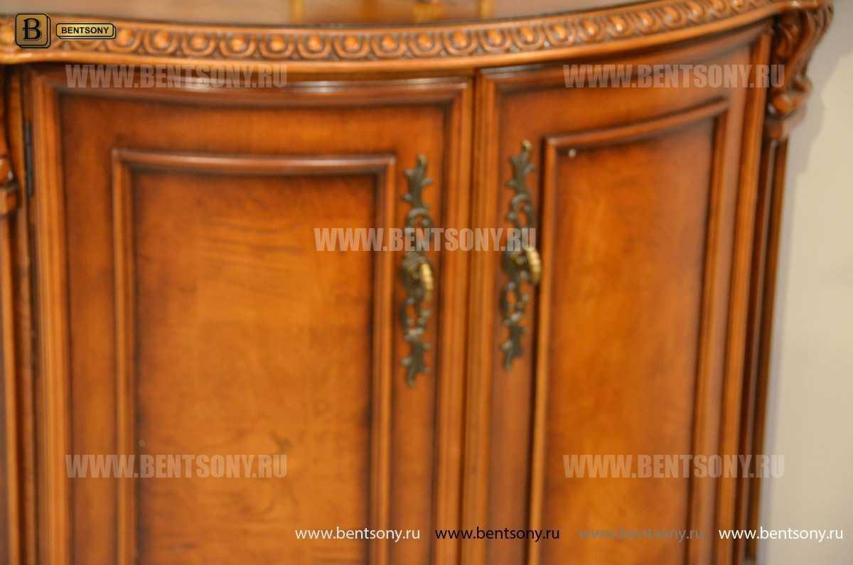 Комод Угловой Монтана (Массив дерева, классика) каталог мебели