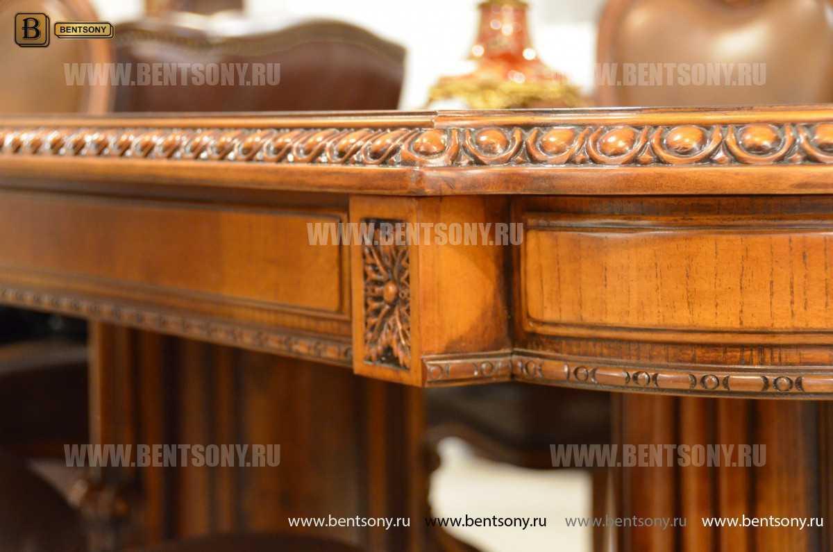 Обеденный стол Монтана (Раскладной, массив дерева) магазин Москва