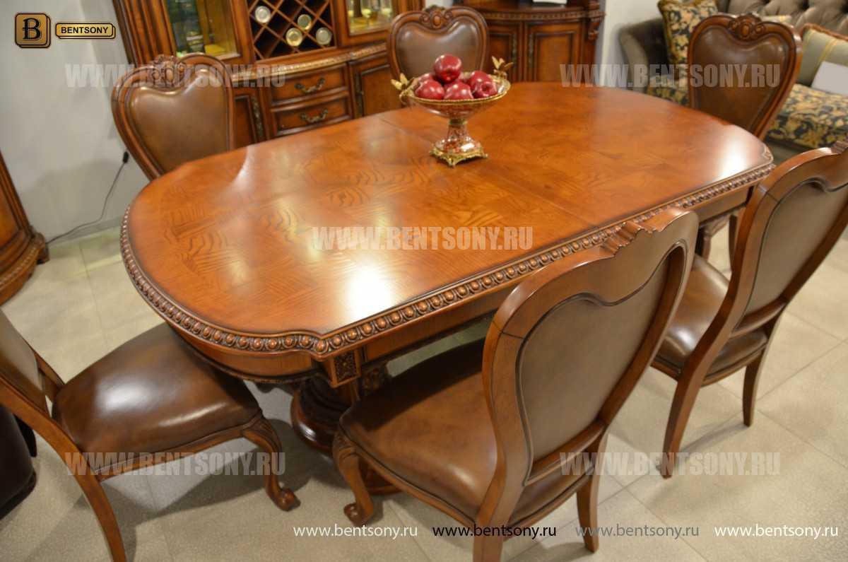 Обеденный стол Монтана (Раскладной, массив дерева) купить