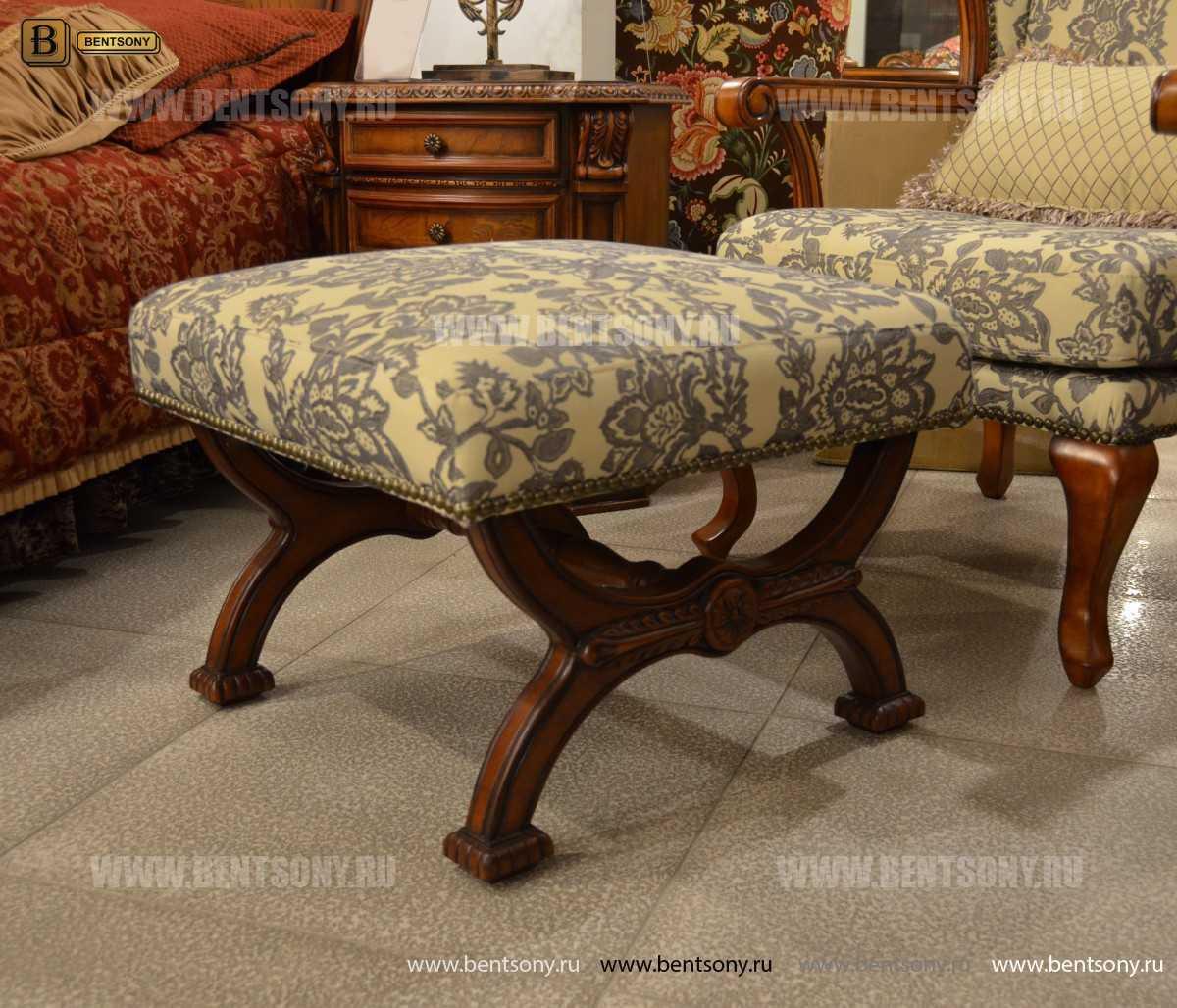 Пуф Монтана А (ткань, деревянные ножки) изображение
