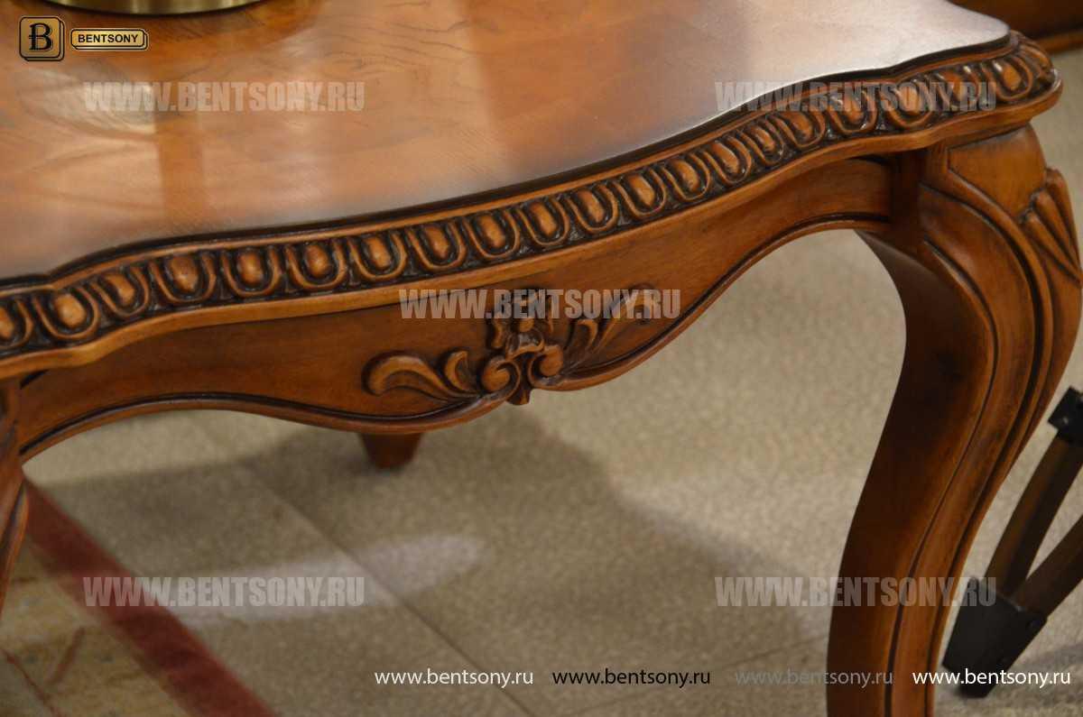 Стол журнальный Монтана А, чайный (Классика, массив дерева) официальный сайт цены