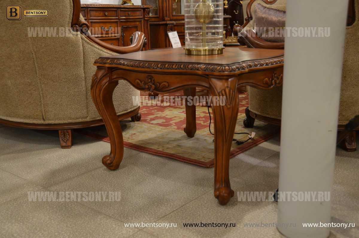 Стол журнальный Монтана А, чайный (Классика, массив дерева) магазин Москва