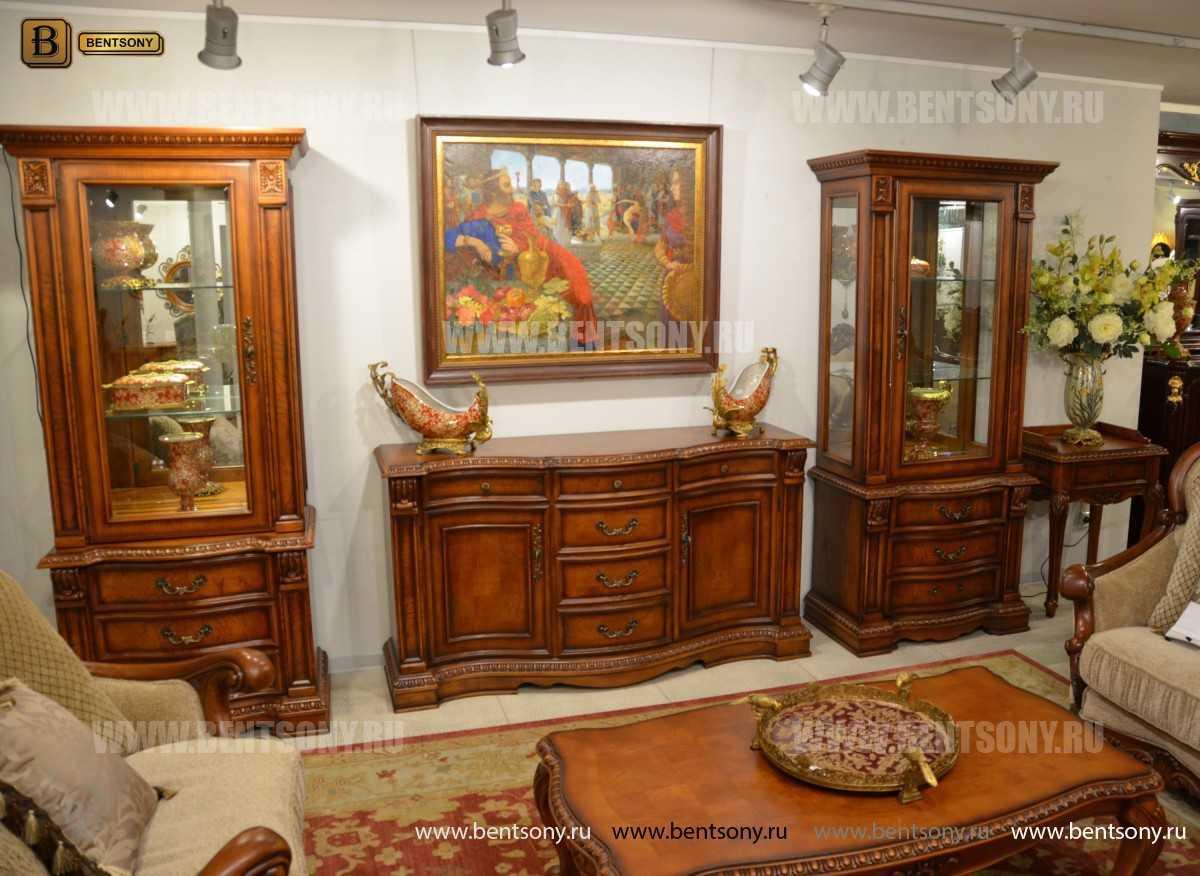 Комод Монтана (Классика, массив дерева) каталог мебели с ценами