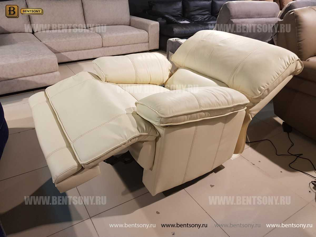 Кресло Капонело (Реклайнер, Натуральная кожа) купить в СПб