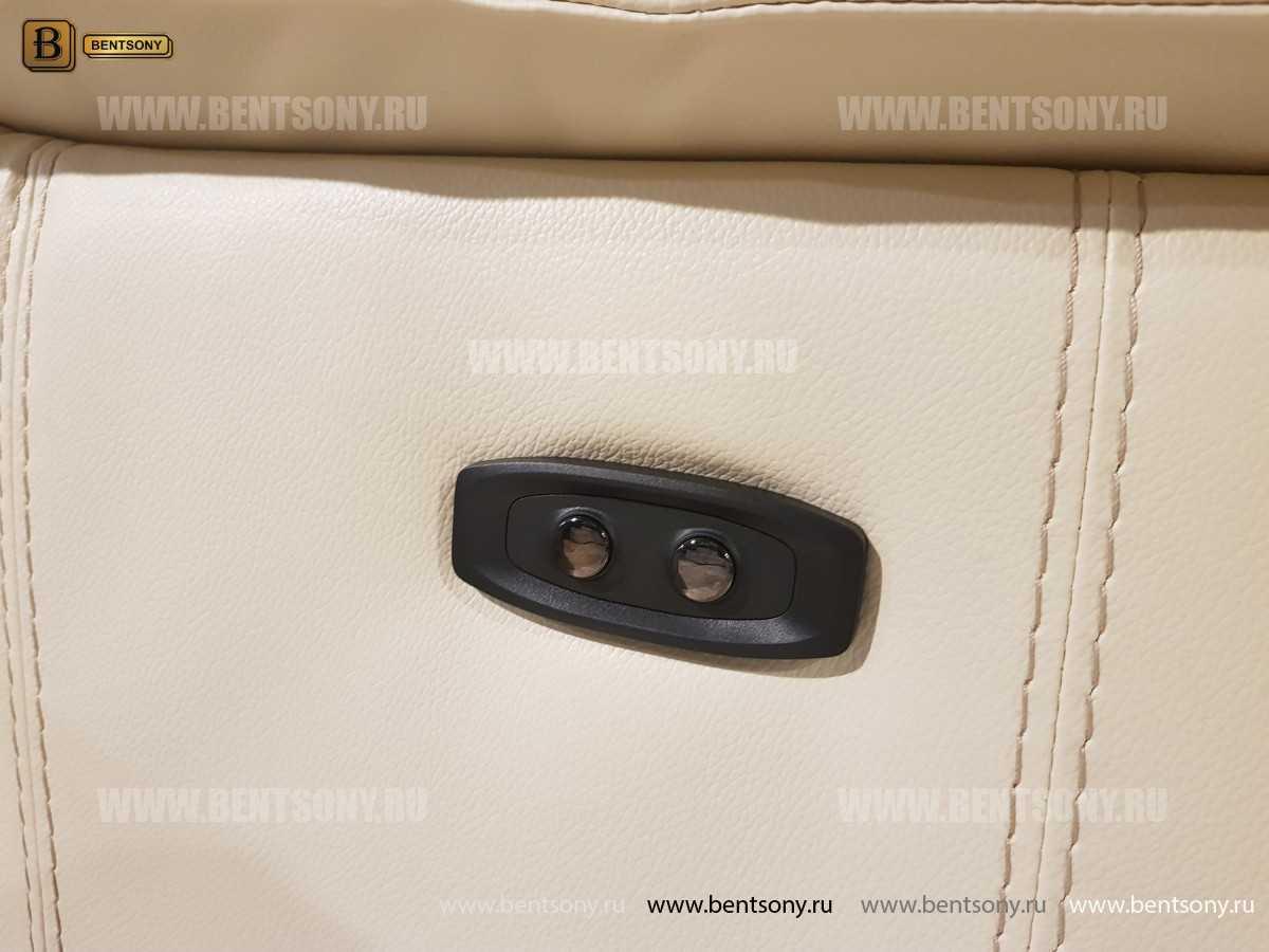 Кресло Капонело для кабинета (Реклайнер, Натуральная кожа) каталог с ценами