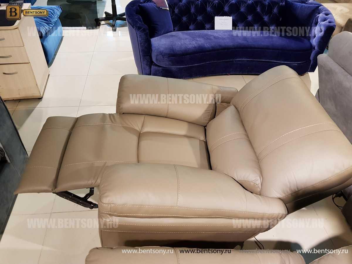 Кресло Марриот (Реклайнер, Натуральная кожа) официальный сайт цены