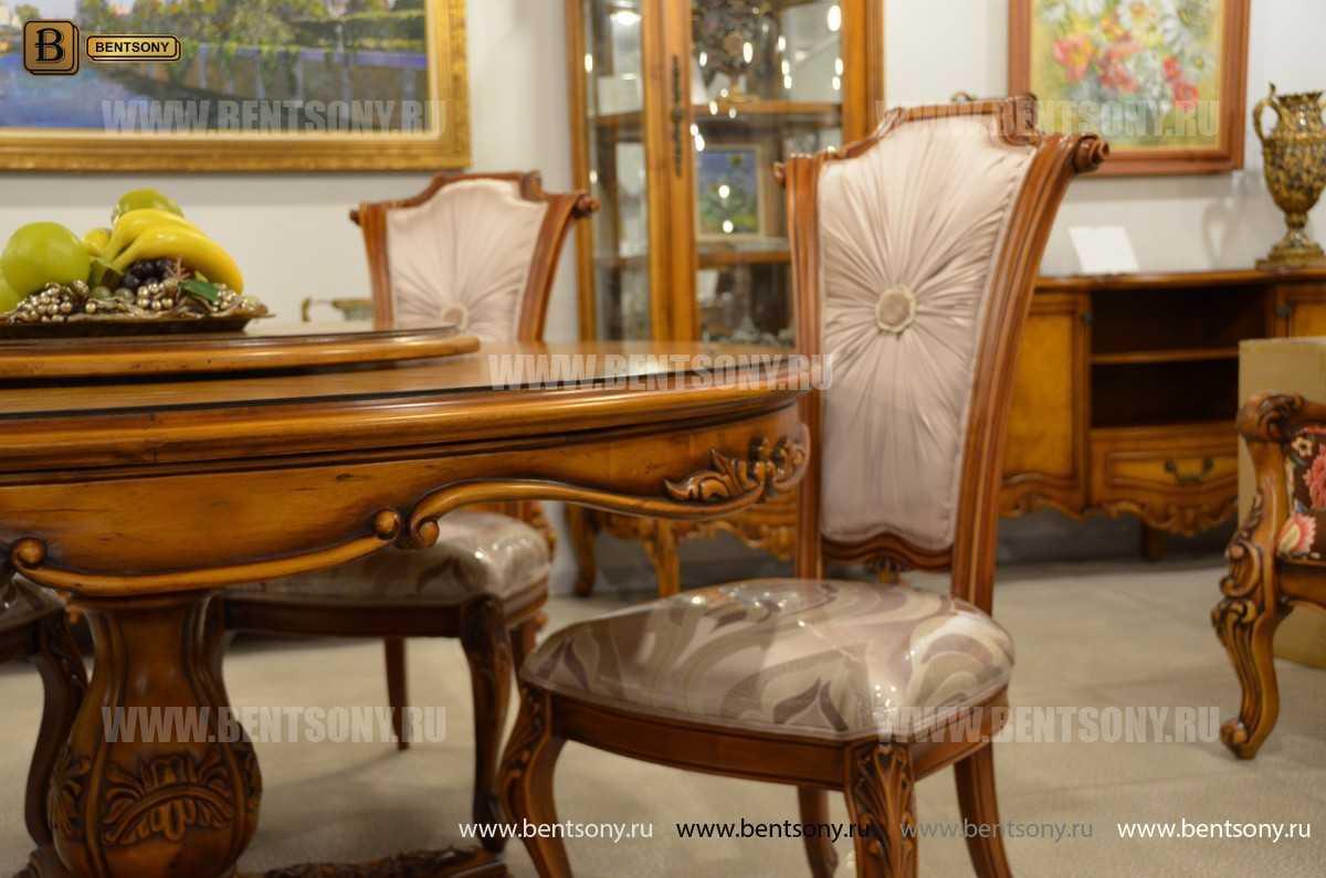 Обеденный стол Дакота А (Круглый, массив дерева) магазин Москва