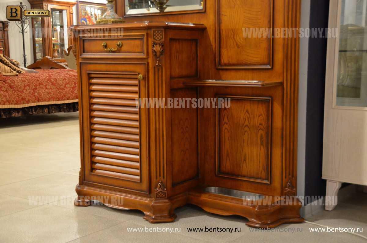 Прихожая Феникс (Классика, массив дерева) каталог мебели с ценами