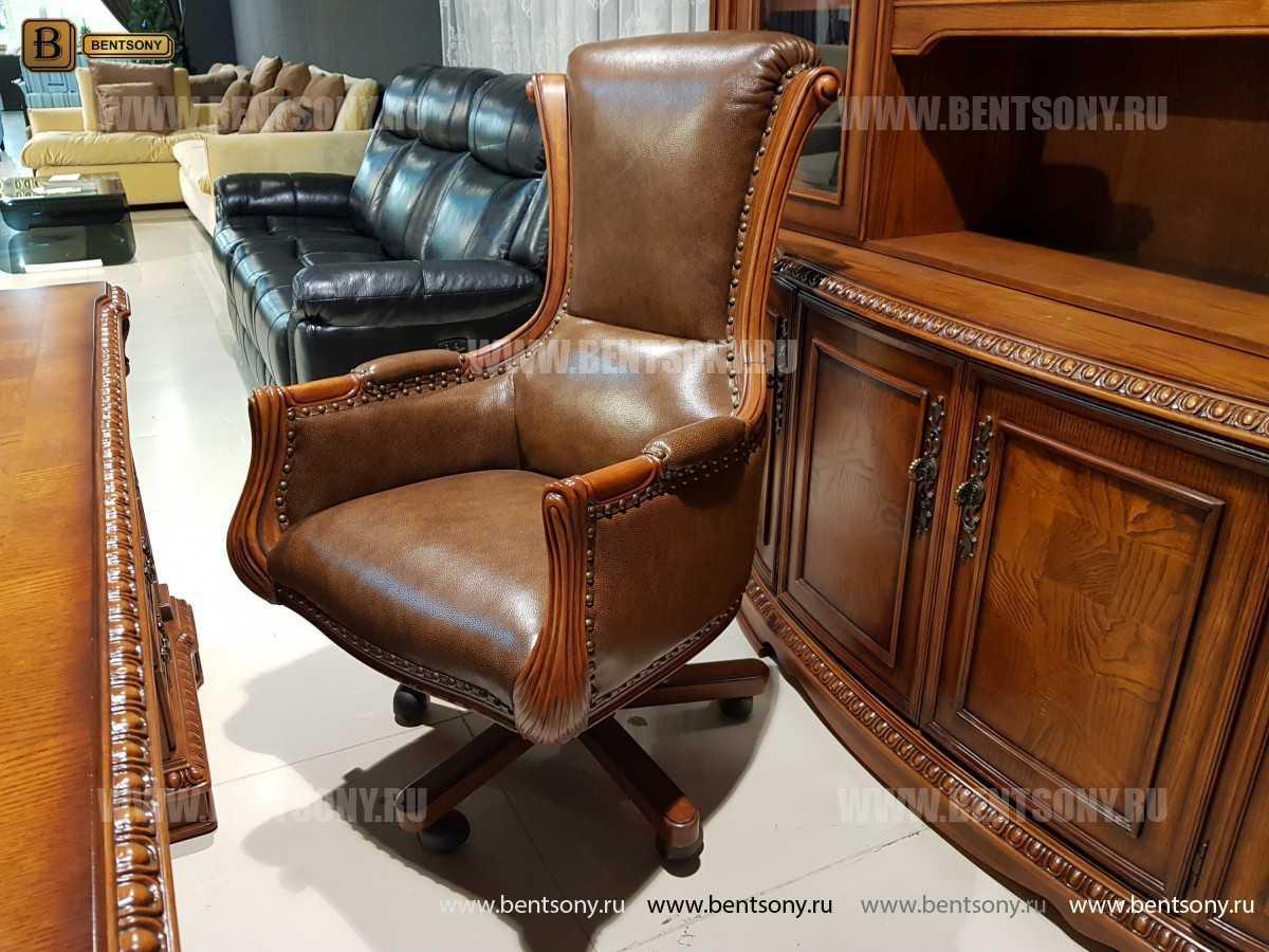 Кресло Кабинетное Монтана (Натуральная кожа)  изображение