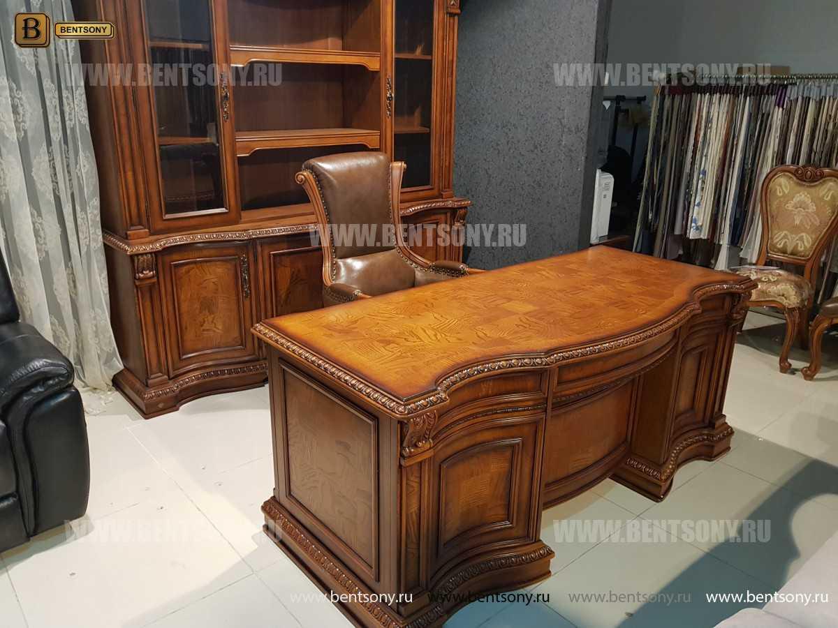 Кресло Кабинетное Монтана (Натуральная кожа)  купить в СПб