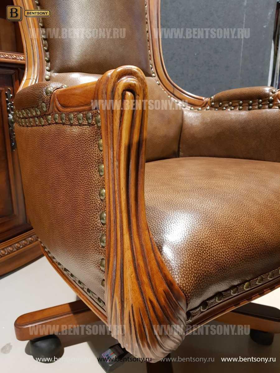 Кресло Кабинетное Монтана (Натуральная кожа)  в Москве