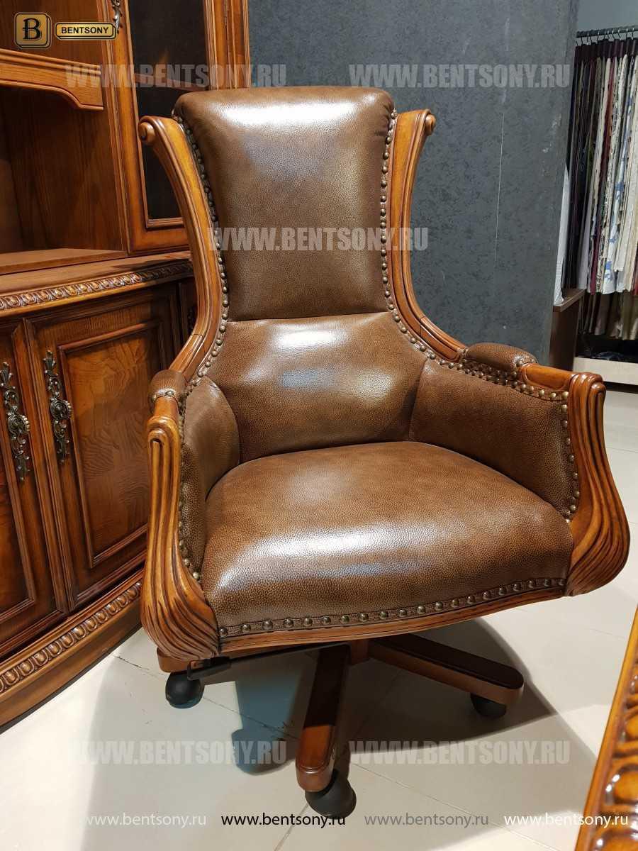 Кресло Кабинетное Монтана (Натуральная кожа)  для дома