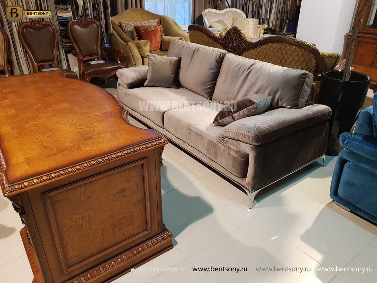 Диван Монтелло (Прямой, Велюр) каталог мебели