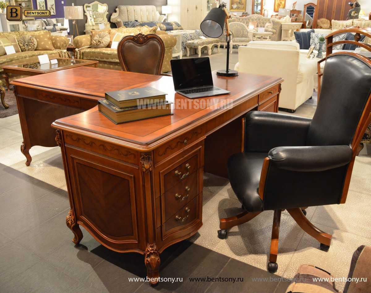 Письменный стол Флетчер А (Классика, массив дерева) официальный сайт цены
