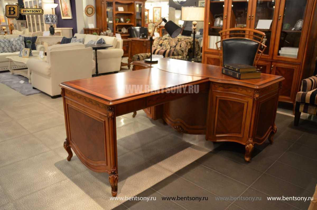 Письменный стол Флетчер А (Классика, массив дерева) изображение