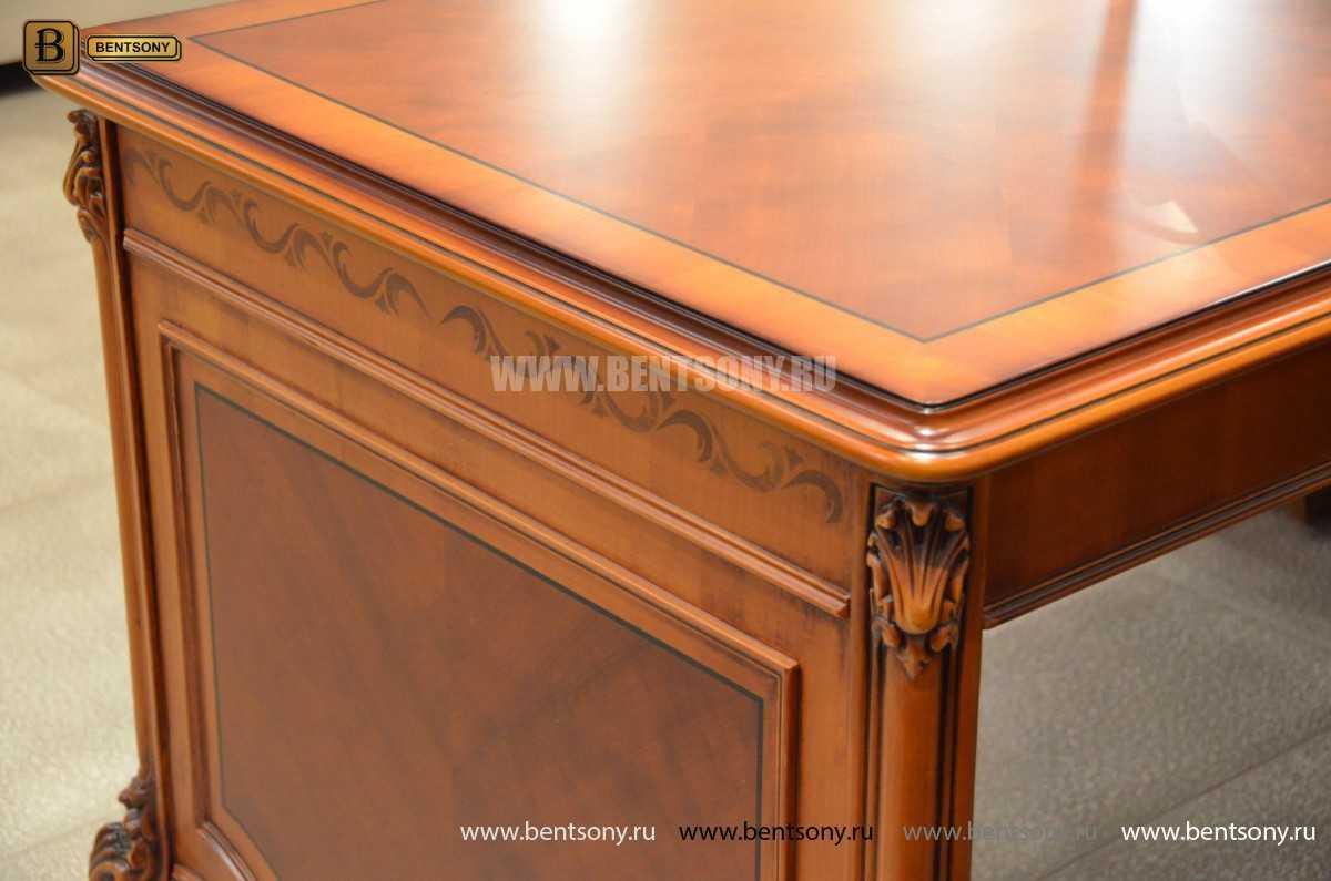 Письменный стол Флетчер А (Классика, массив дерева) сайт цены