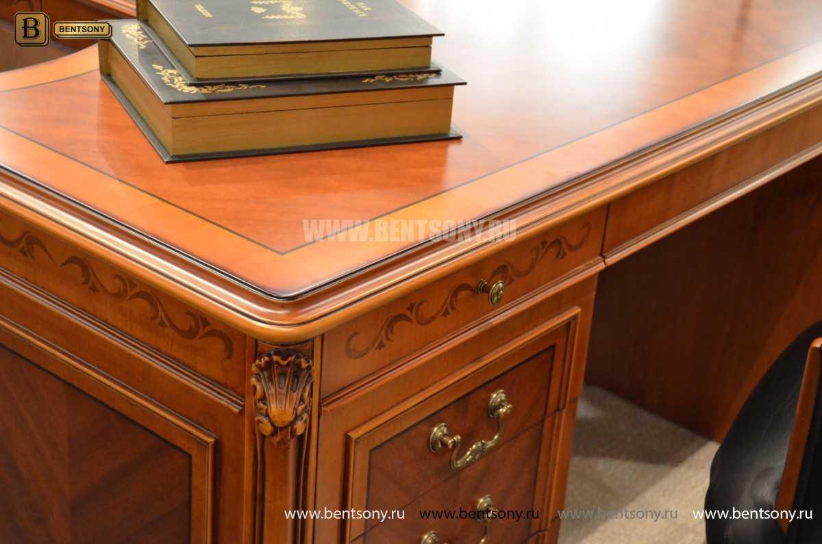 Письменный стол Флетчер А (Классика, массив дерева) купить