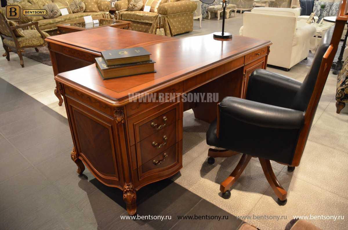 Письменный стол Флетчер А (Классика, массив дерева) магазин