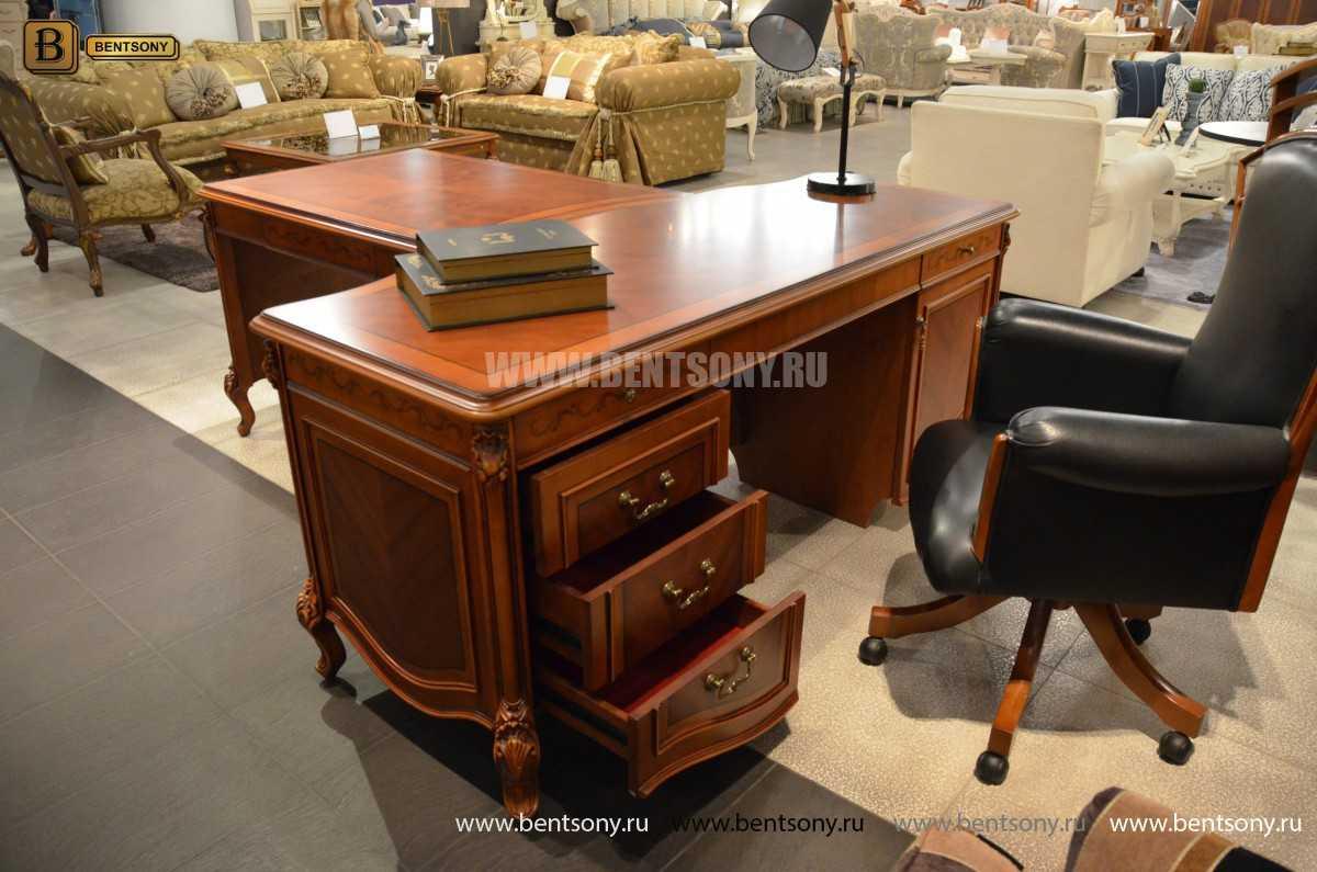 Письменный стол Флетчер А (Классика, массив дерева) цена